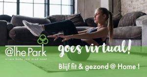 Virtuele sportlessen @The Park Boekenbergpark