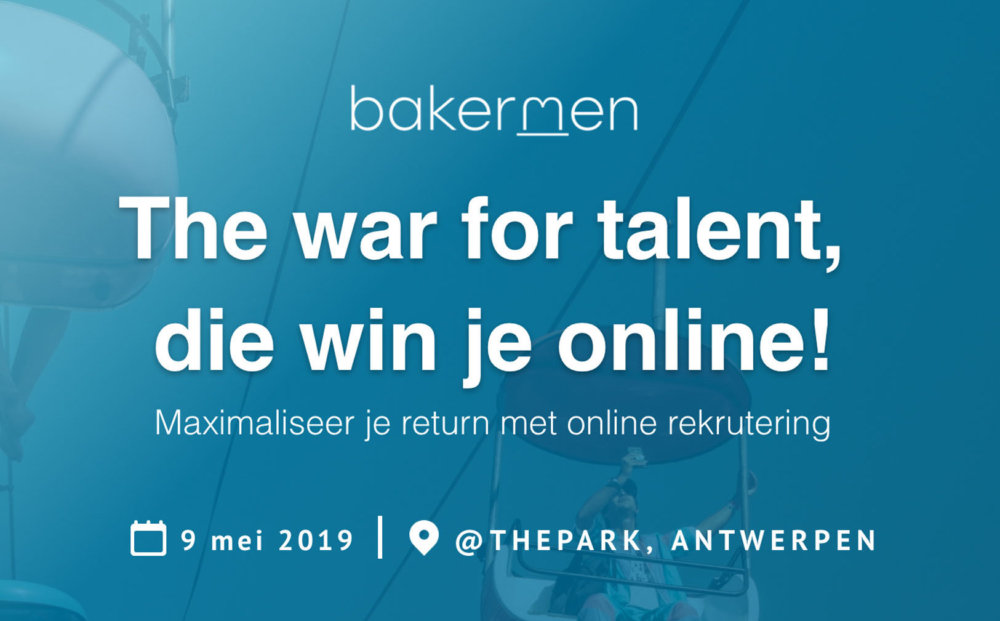 Bakermen workshop online rekrutering @TP