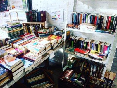 Boekenverkoop @The Park Boekenbergpark voor het goede doel
