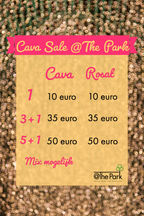 Cava sales @The Park Boekenbergpark