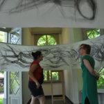 Kunstinstalatie in de Chinese Pagode
