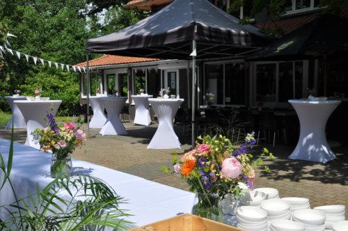 Prive feestzaal in het groen Boekenbergpark @The Park