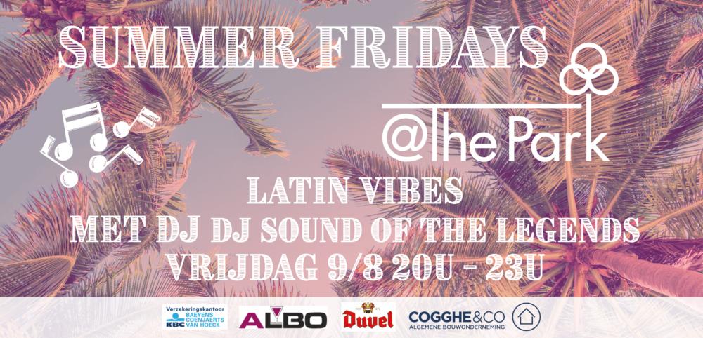 Open air zomerterras met DJ Antwerpen Boekenebergpark