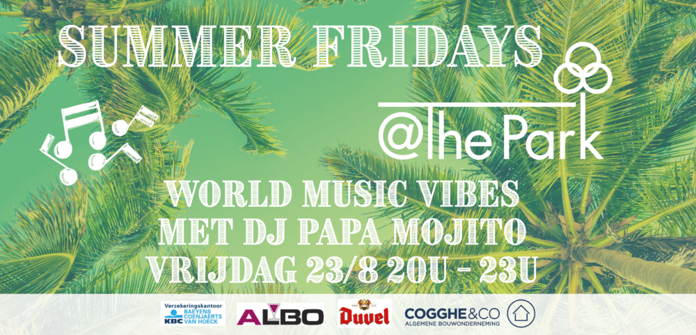 DJ papa Mojito openlucht @The Park Boekenebergpark