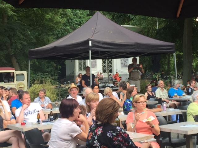 Gratis openlucht concerten Music@The Park Boekenbergpark