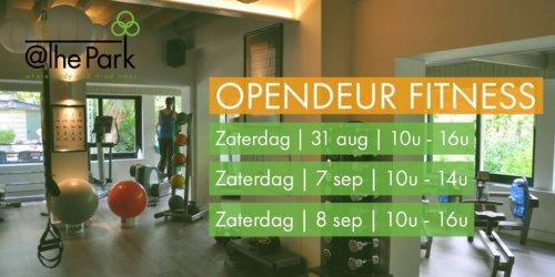 Opendeur dag Fitness @The Park Boekenbergpark