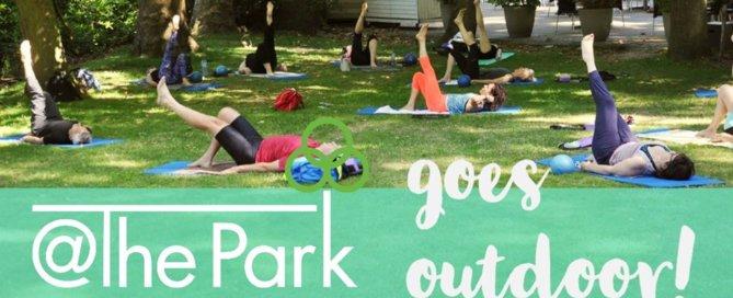 Openluchtlessen @The Park Boekenbergpark