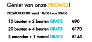 Zomerpromoties @The Park