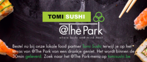 Food Partner van @The Park Tomi Sushi
