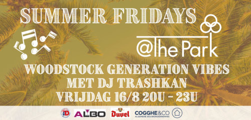 Summer Fridays Woodstock @The Park Boekenbergpark