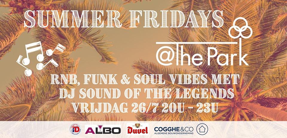 Openlucht zomerterras met DJ in @The Park Boekenbergpark