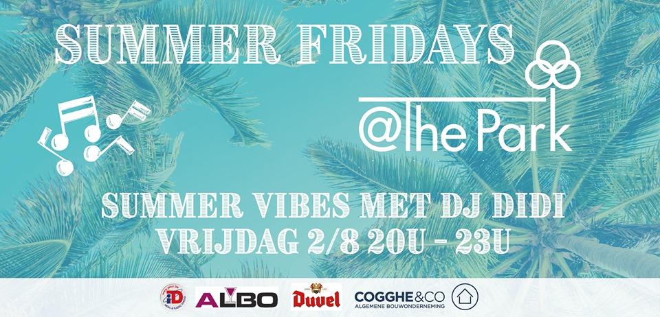 Openlucht zomerterras met DJ @The Park Boekenbergpark