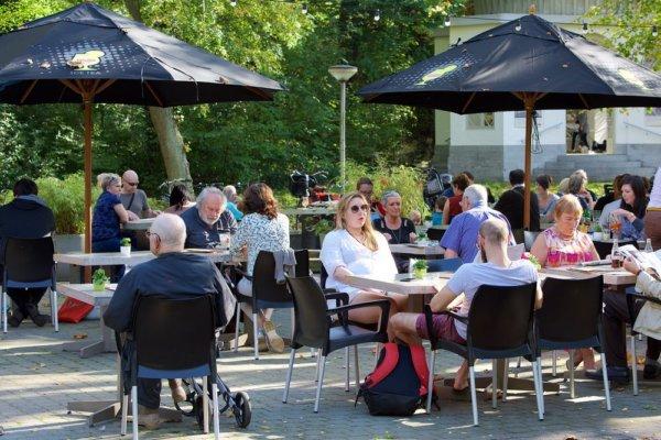 Toffe zomerterras @The Park Boekenbergpark