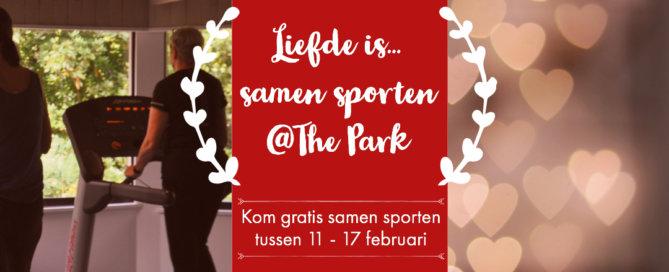 Gratis sporten @The Park Boekenbergpark