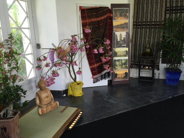Zen ruimte in de Chinese pagode @The Park Boekenbergpark