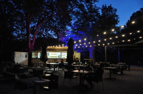 avond zomerterras @The Park Boekenbergpark