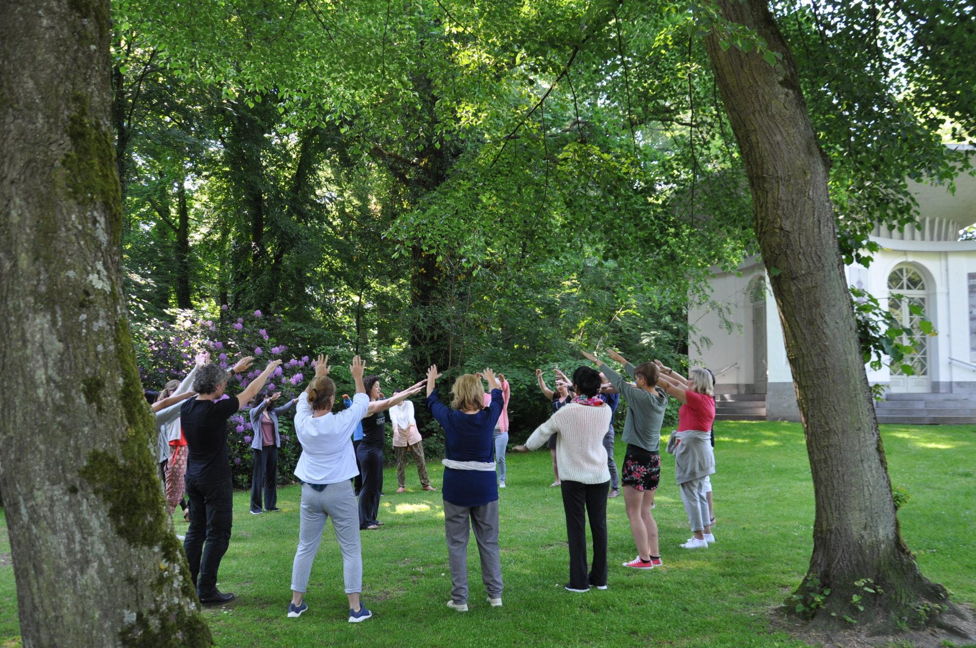 berdijfsworkshop ademhalingsoefeningen @The Park Boekenbergpark
