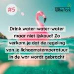 Drinken tijdens de hittegolf @The Park Boekenbergpark