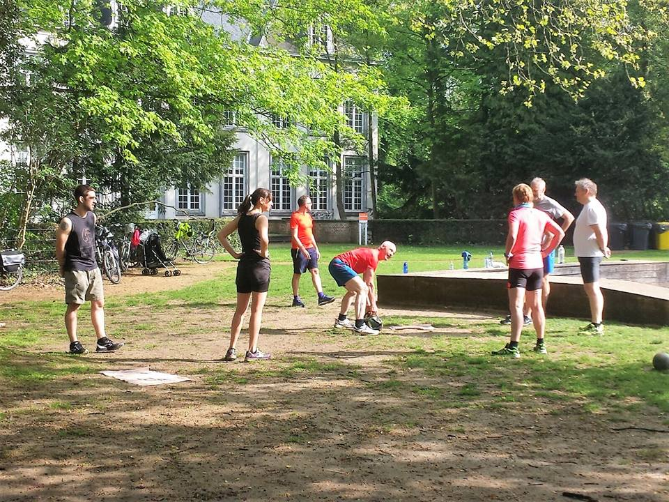 Outdoor park workout @The Park Boekenbergpark