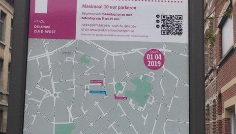 parkeerregeling @The Park Boekenbergpark