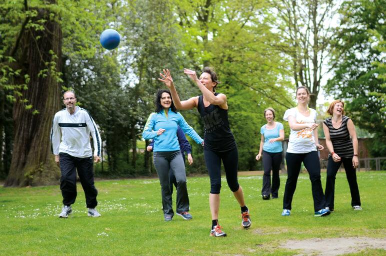 @The Park Boekenbergpark sport