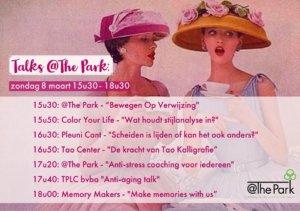 Vrouwendag viering @The Park Boekenbergpark