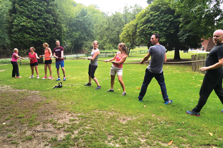 @The Park Boekenbergpark teambuilding